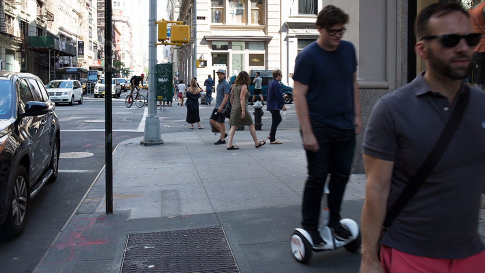This Segway Scooter Is What the Hoverboard Should Have Been