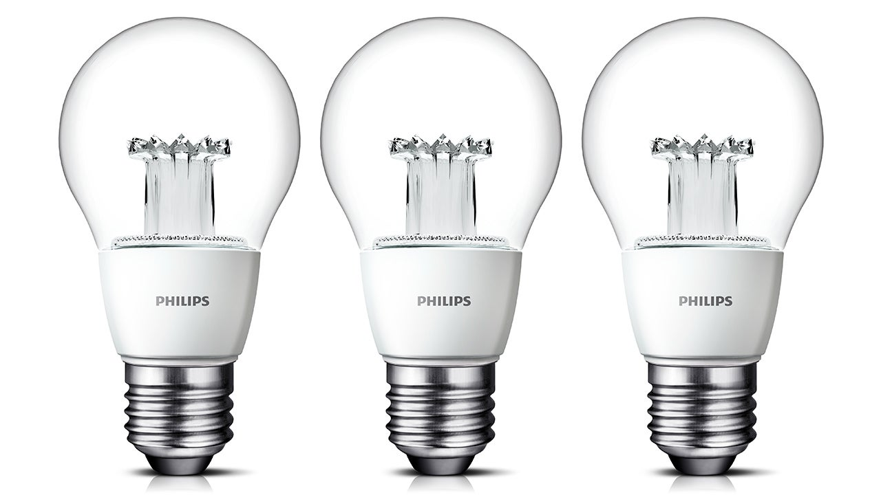philips 39 new clear led bulbs look just like incandescents gizmodo. Black Bedroom Furniture Sets. Home Design Ideas