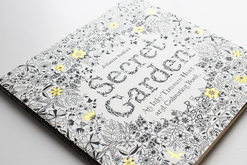 Why millions of grownups are buying this colouring book Amazon coloring books for adults secret garden