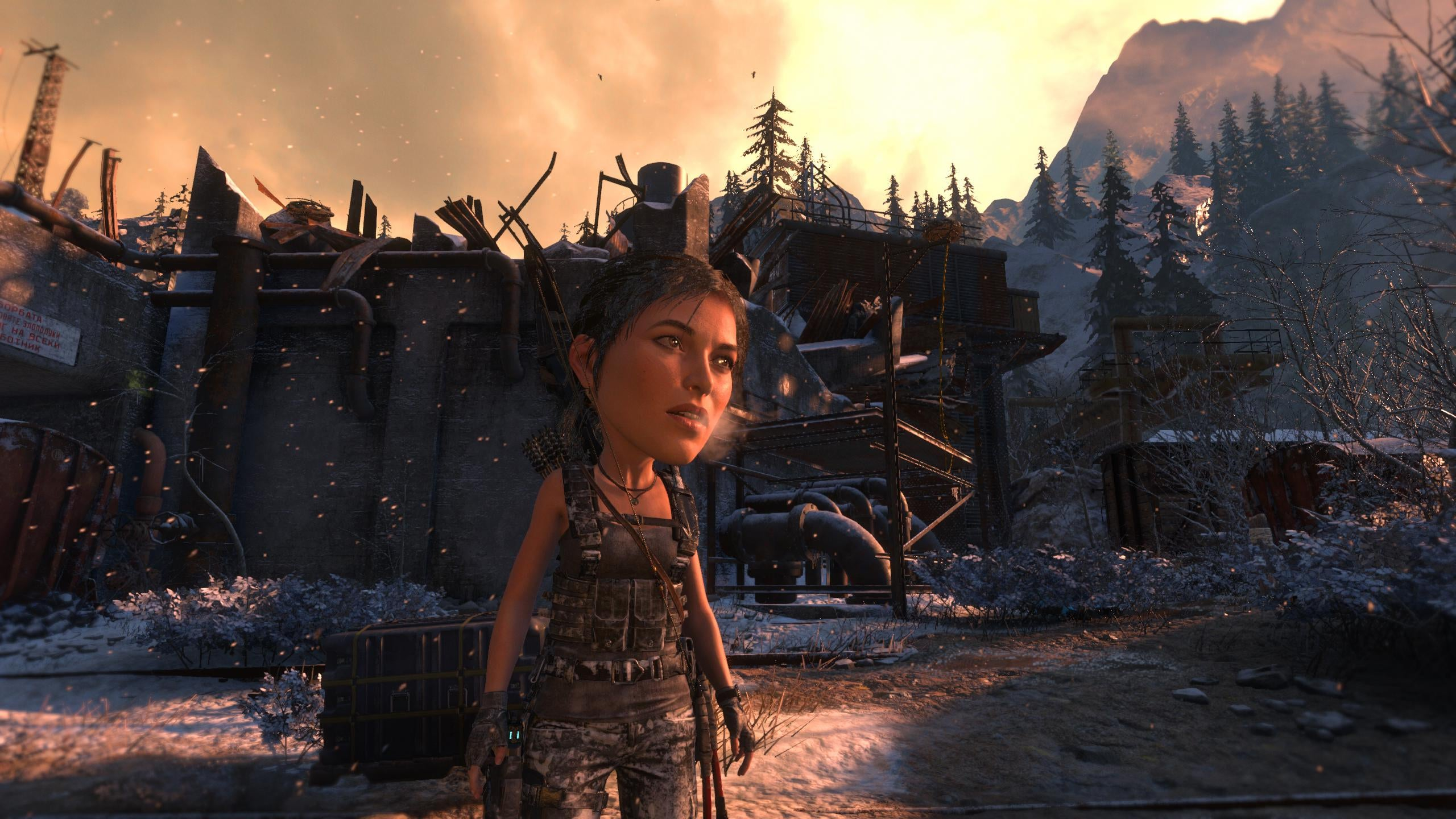 Rise Of The Tomb Raider's Big Head Mode Is Pretty Good