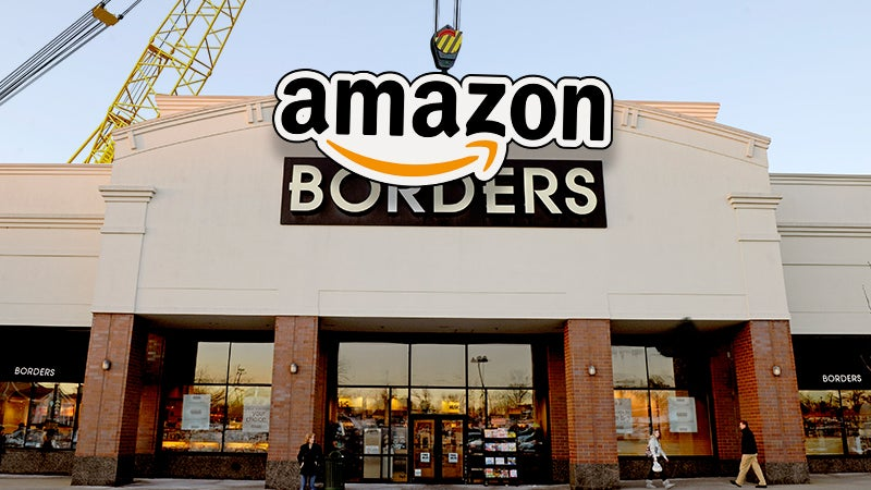 Amazon Will Open Over 300 Physical Bookstores Because Life Is a Practical Joke Played On Us All