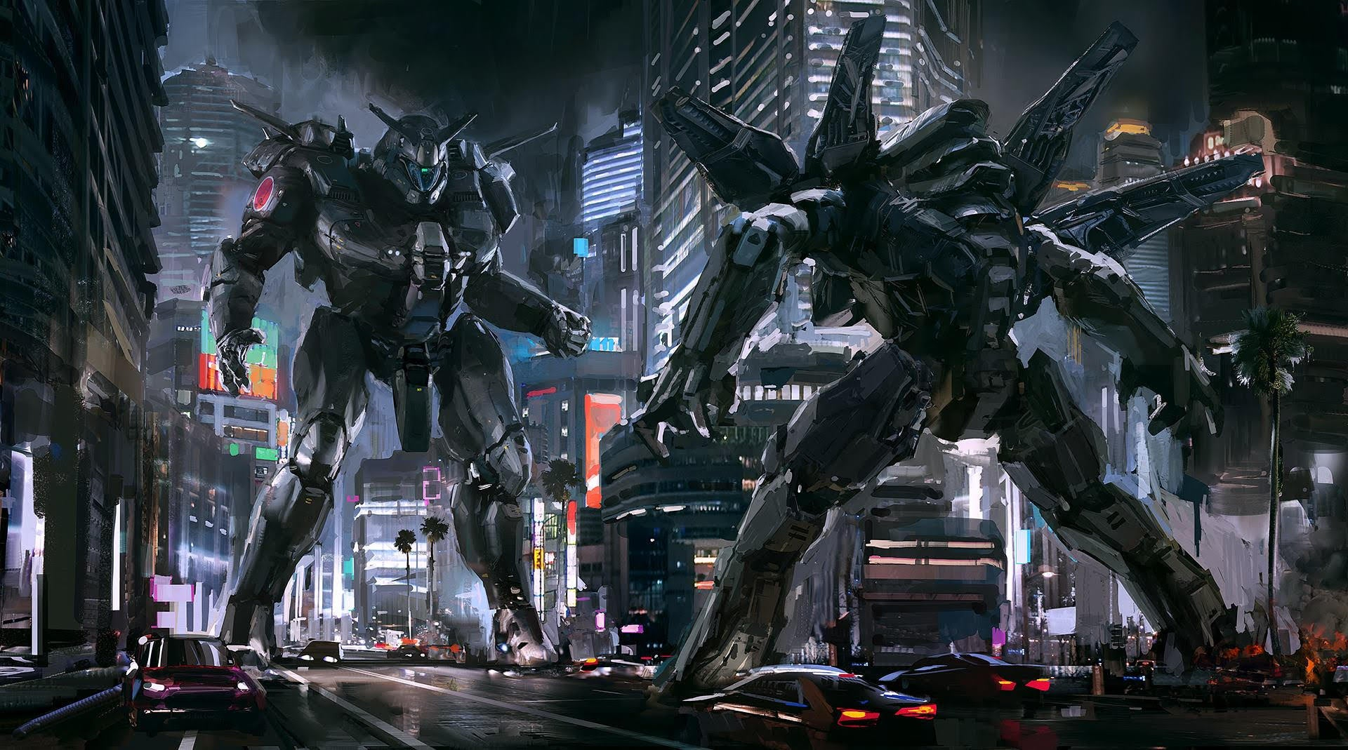 Japan Won WW2, And Now Rules America With Giant Mechs