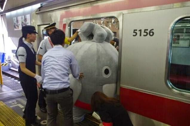 Japanese Mascots Are Too Damn Big