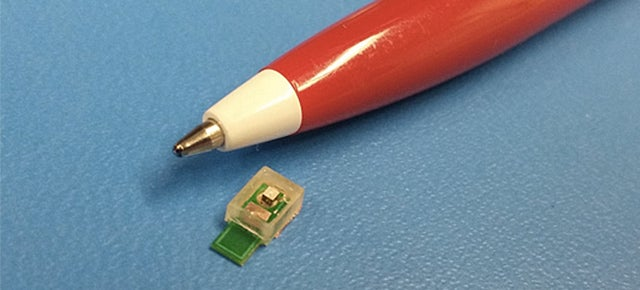 This Tiny Implantable Chip Is Powered By Sound