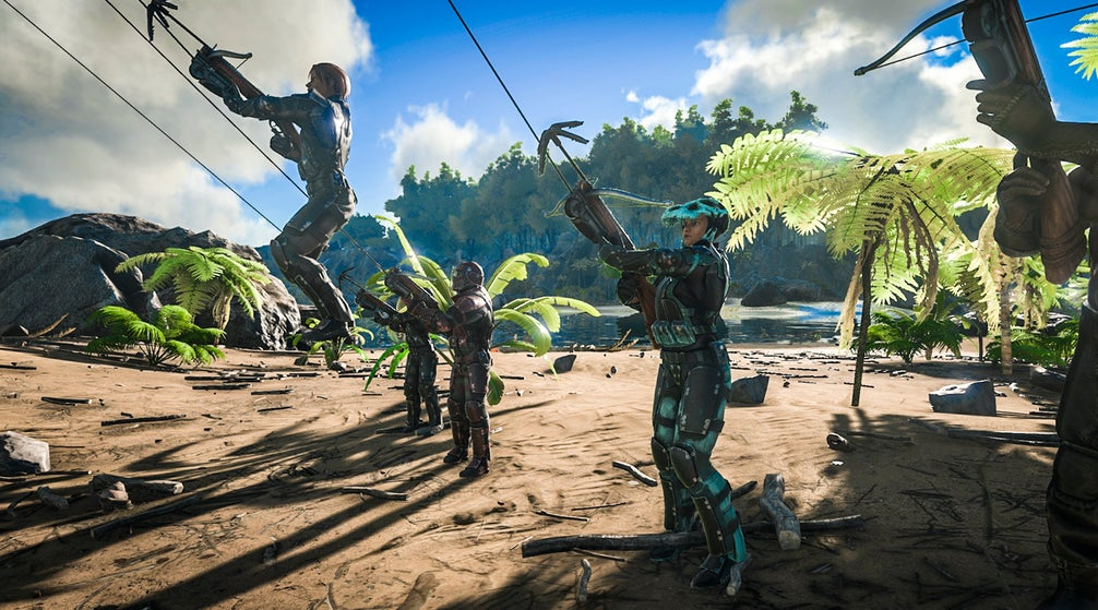 Ark: Survival Evolved Gets Grappling Hooks