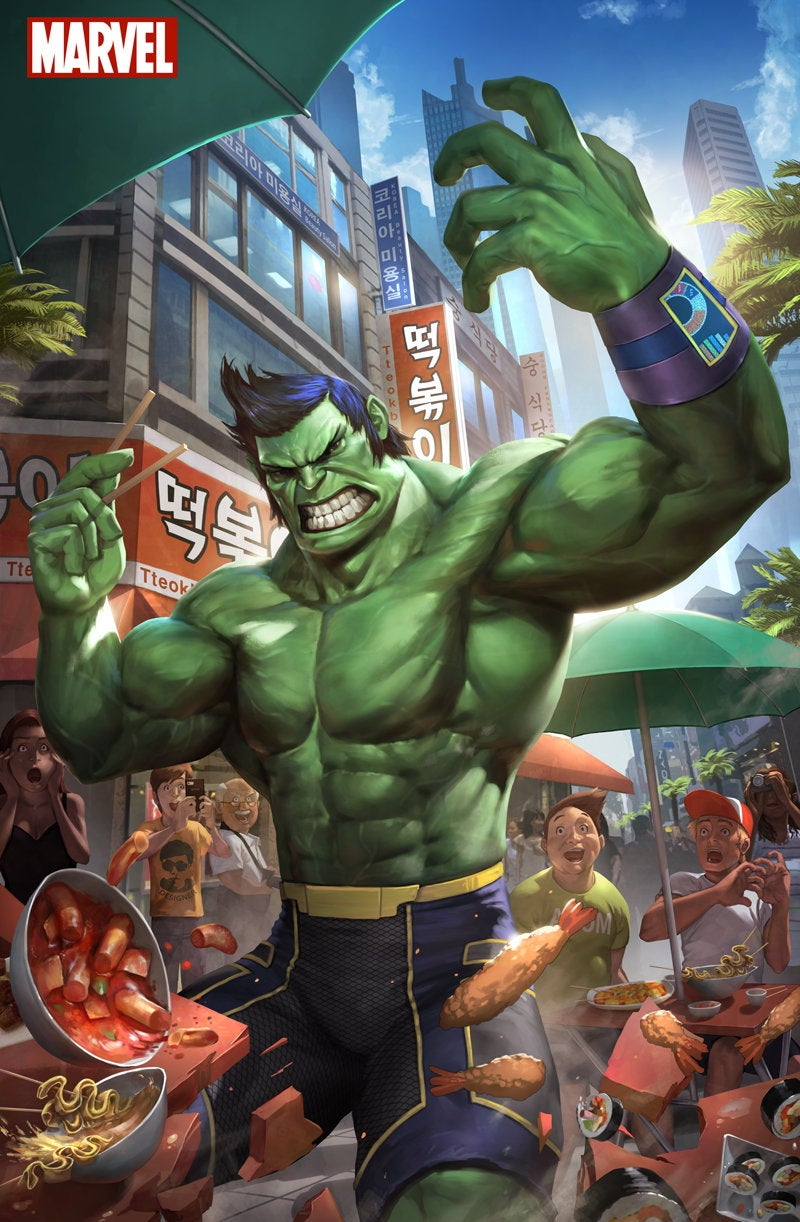 One Punch Man vs Marvel vs DC