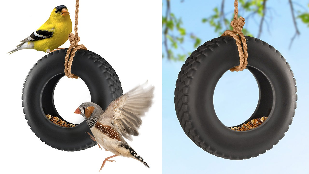 The perfect use for all your old tiny tyres gizmodo for Old tyre uses