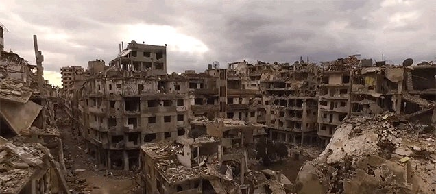 The Destruction Caused By the War in Syria Is Devastating
