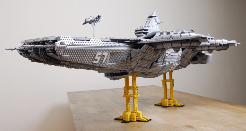 Custom LEGO Helicarrier Is Twice As Big As The Official Set