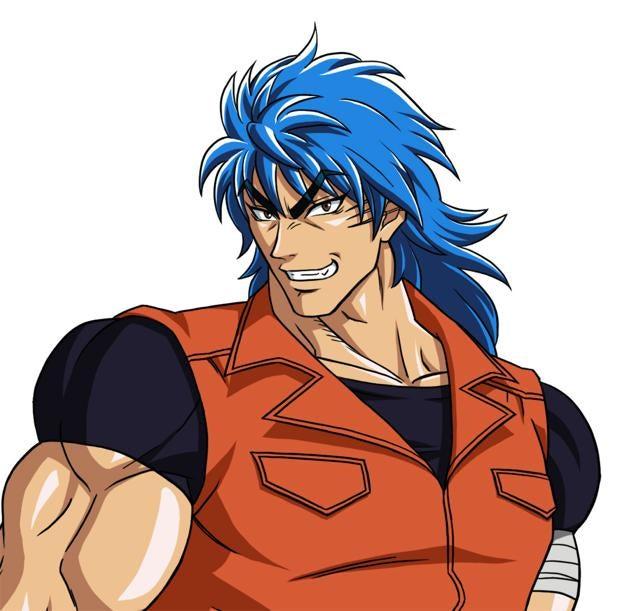 An Anime Character With Blue Hair : New dragon ball anime hair explained apparently kotaku