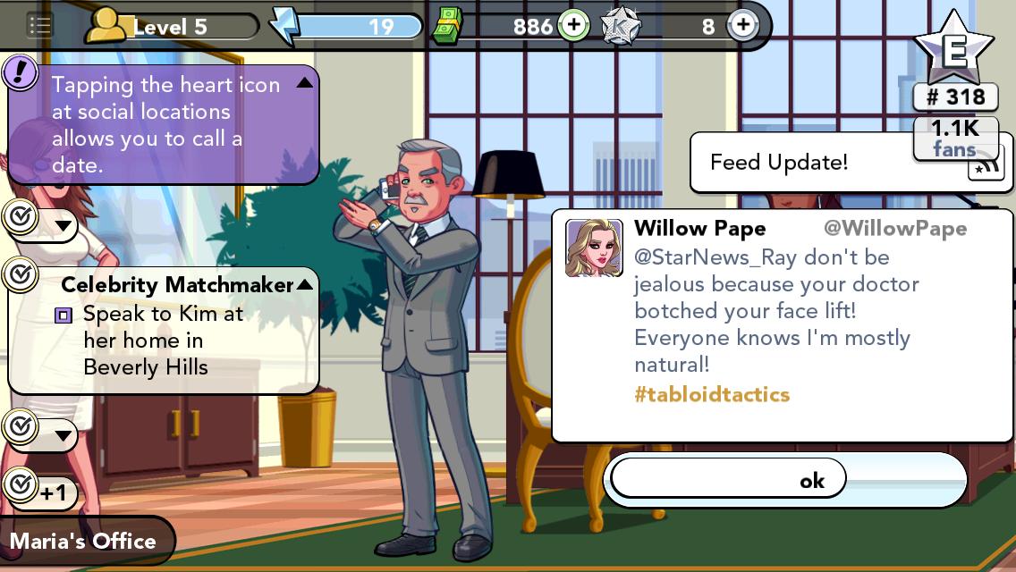 Kim kardashian willow pape game