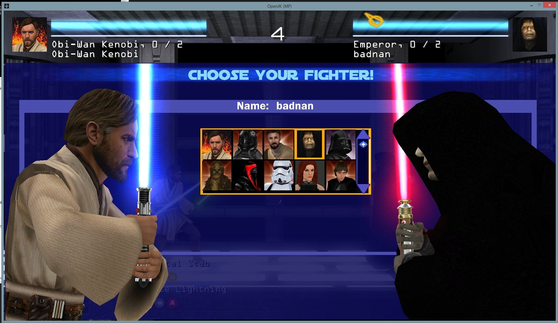 Mod Turns Star Wars Shooter Into 2D Fighter