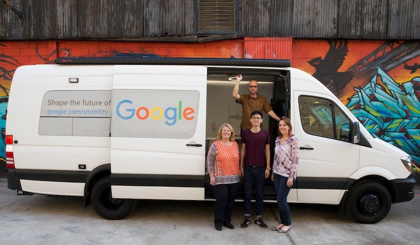 Google Wants You to Get You in the Back of This Van