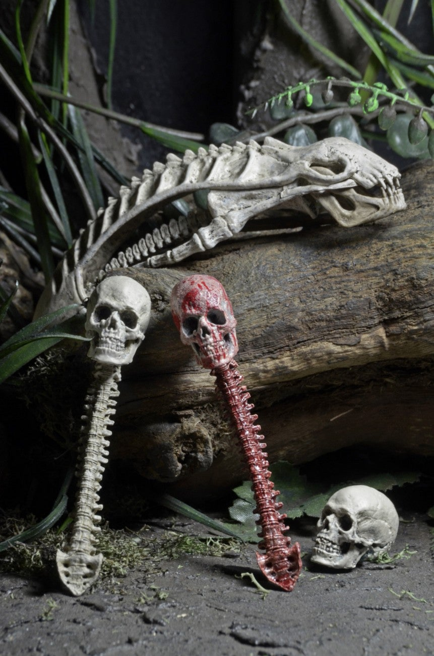 Amazingly Gross Predator Toy Accessory Pack Comes With Bloodied Bones and a Skinned Human