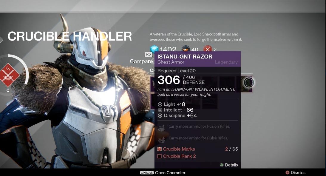 Destiny Rewards For Faction Rank