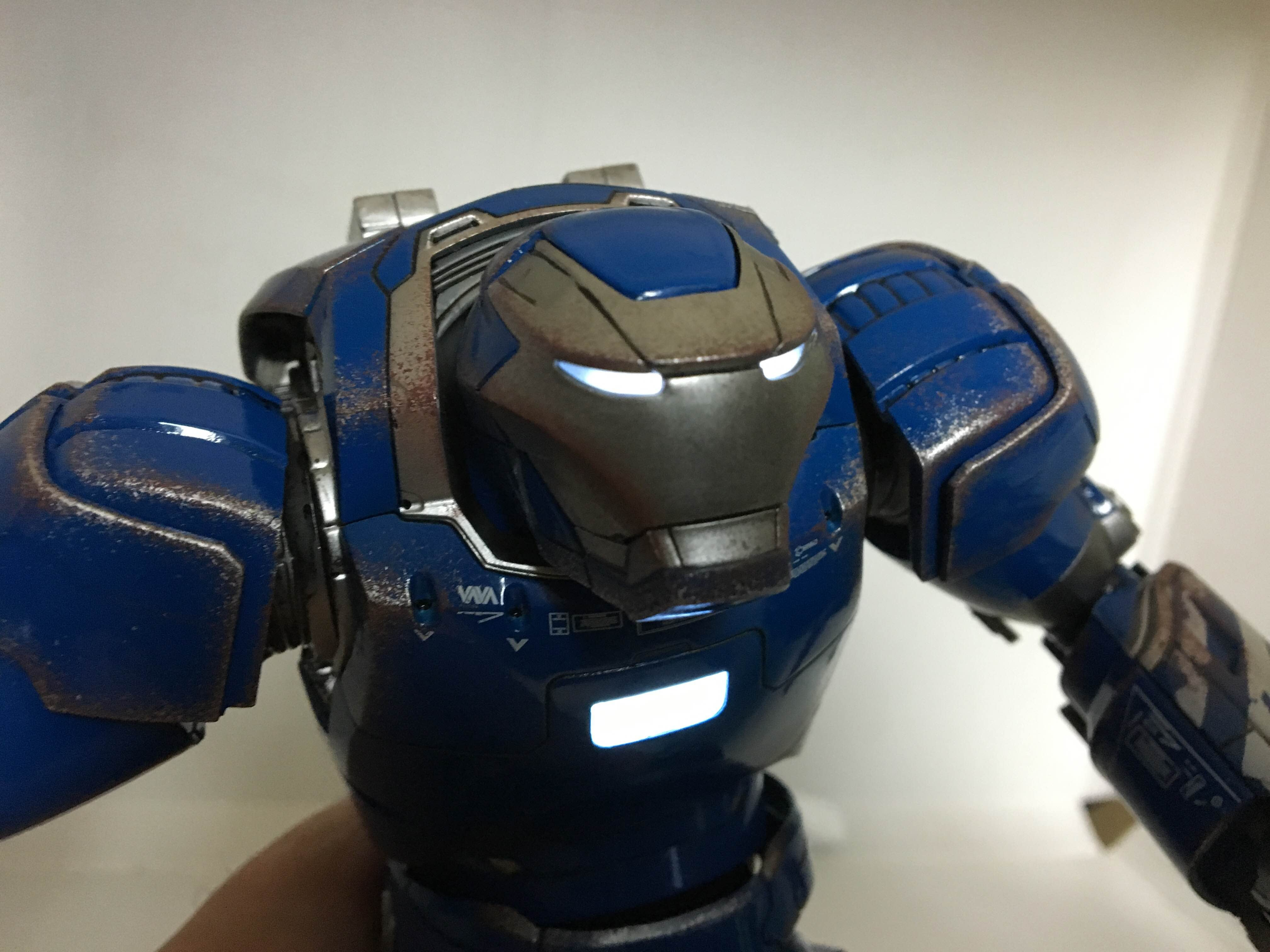 Iron Man Figure Is Actually Iron (Well, Close Enough)