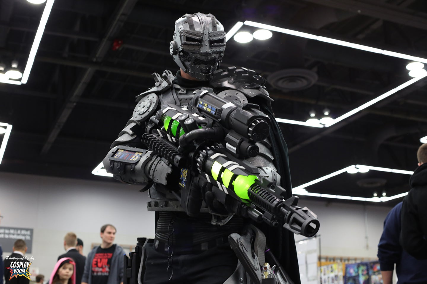 He d look a lot like this cosplay pretty much exactly this quot doom has
