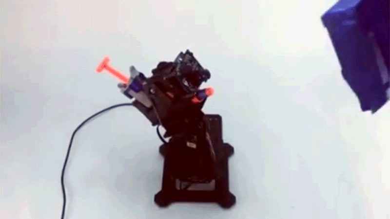Build This Auto-Tracking Nerf Sentry Gun That Does all the Aiming for You