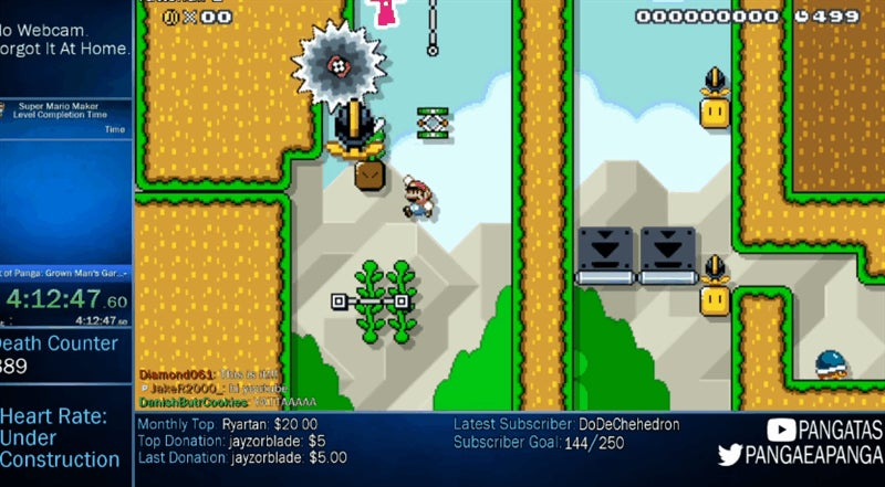 Mario Maker Player Creates A Level So Dirty, He Ends Up Trolling Himself