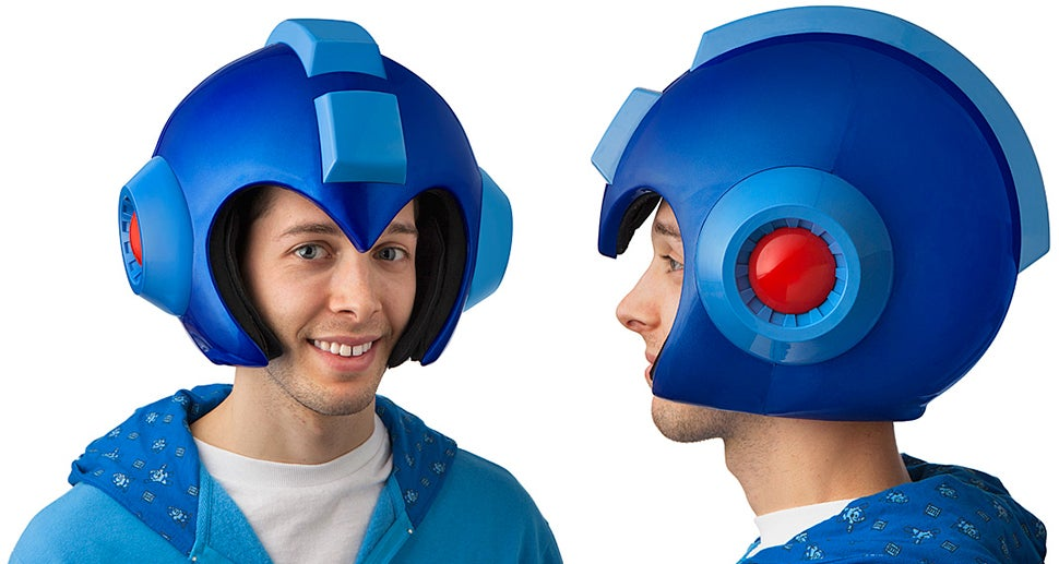 You Can Finally Buy that Light-up Wearable Mega Man Helmet