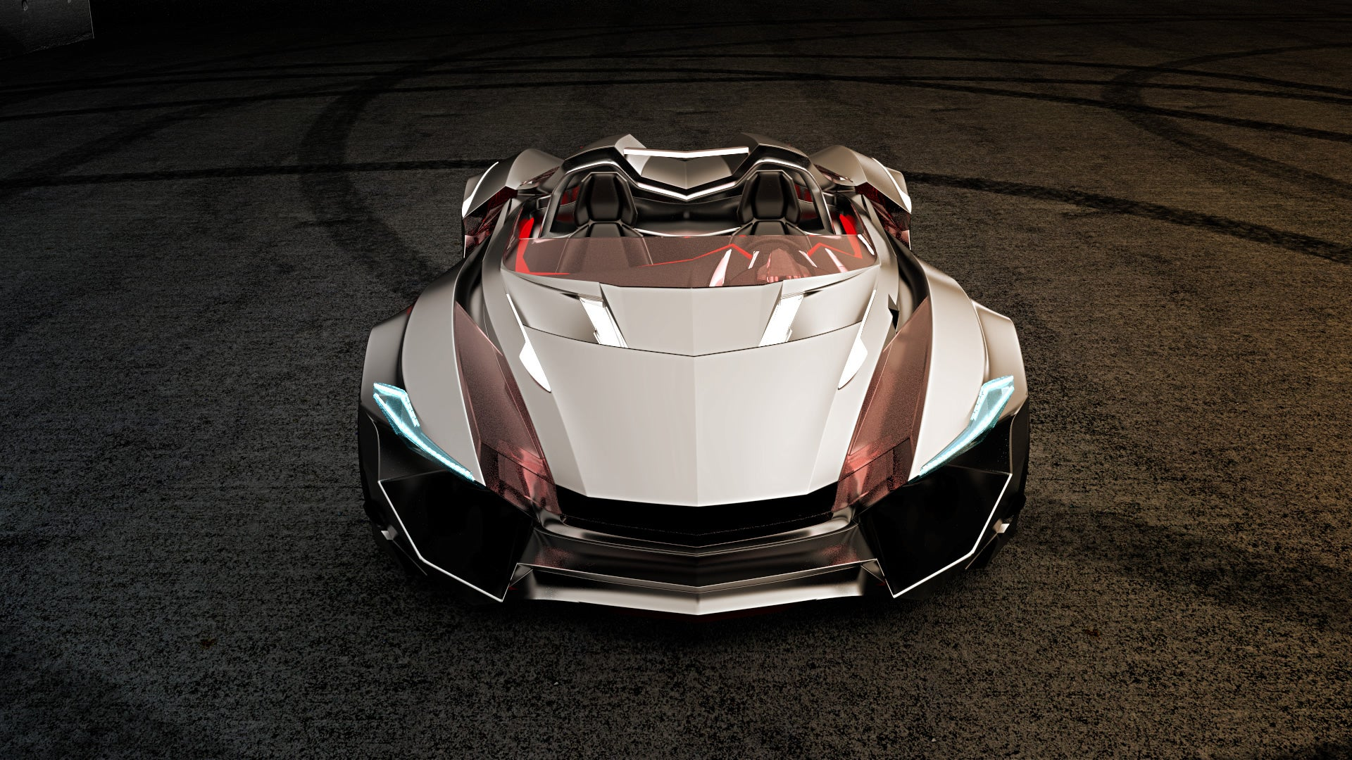 This awesome roadster should be the new Batmobile