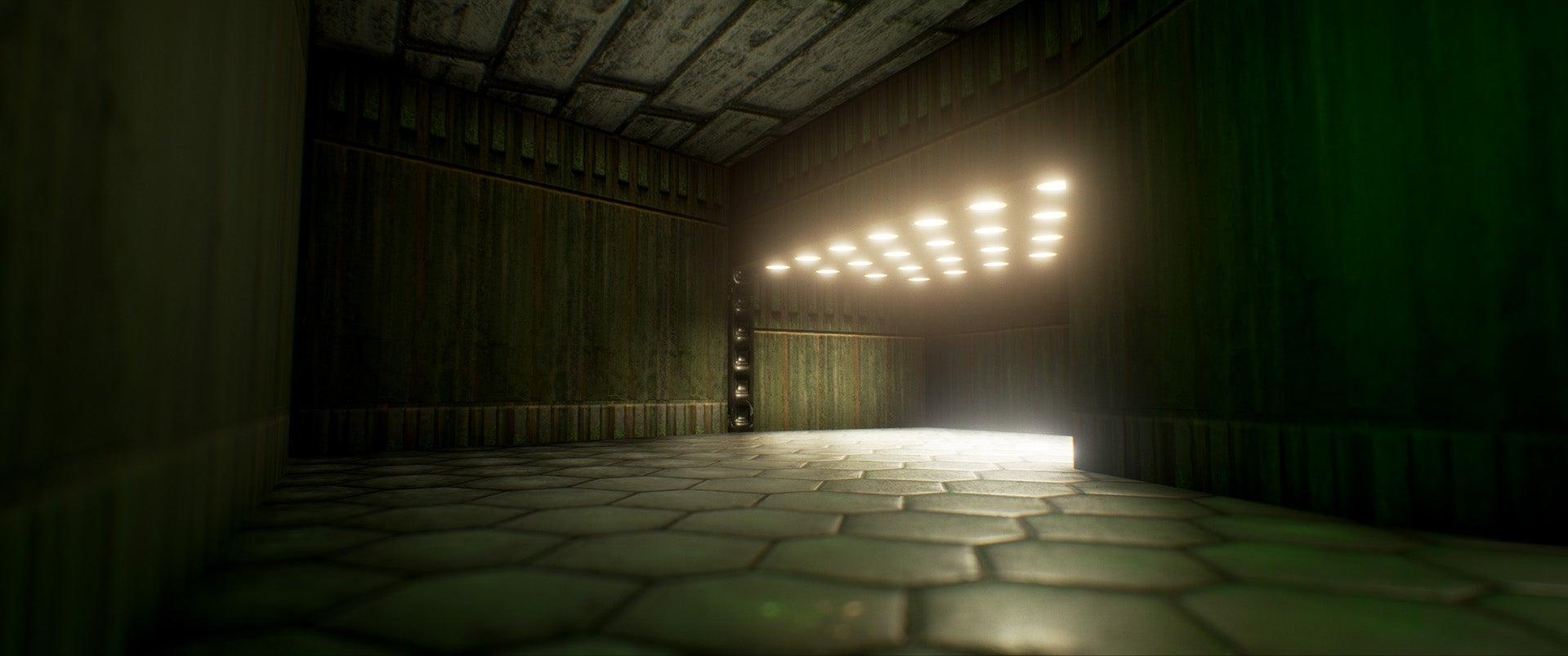 Unreal Engine 4 Makes Doom Very, Uh, Angular