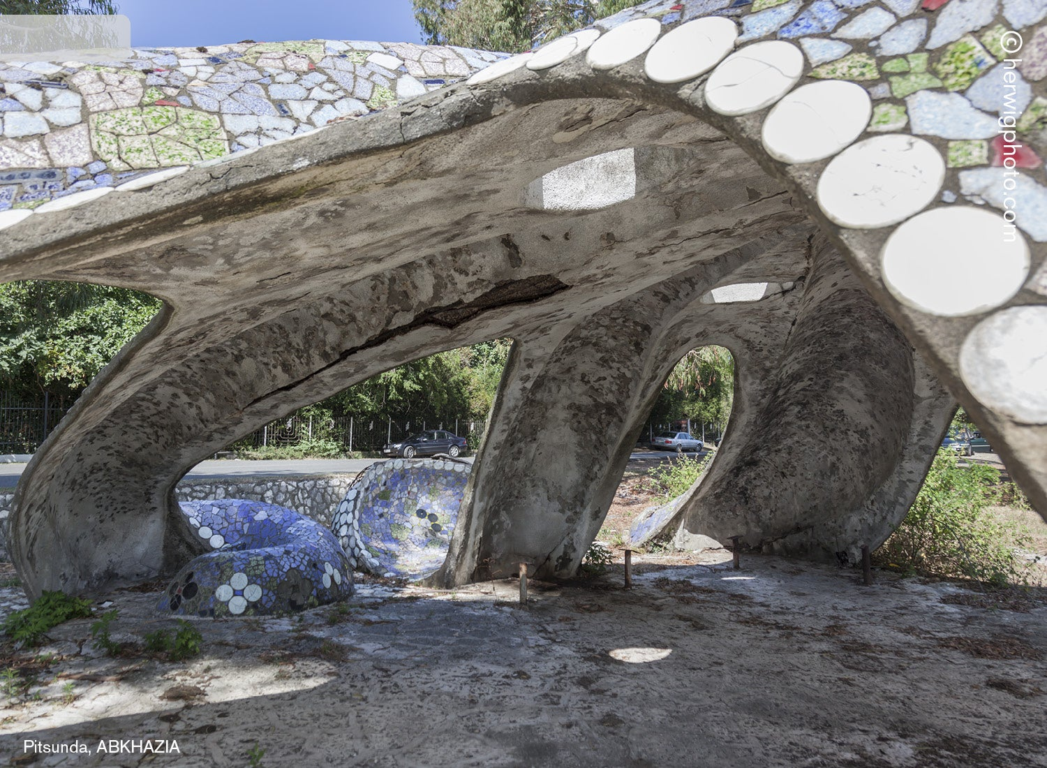 These Bus Stops Left Over From the Soviet Union Are So Wonderfully Bizarre