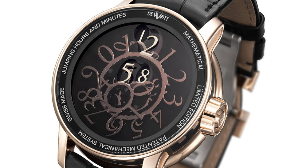 This Watch's Random Mess Of Numbers Still Manages To Perfectly Tell Time