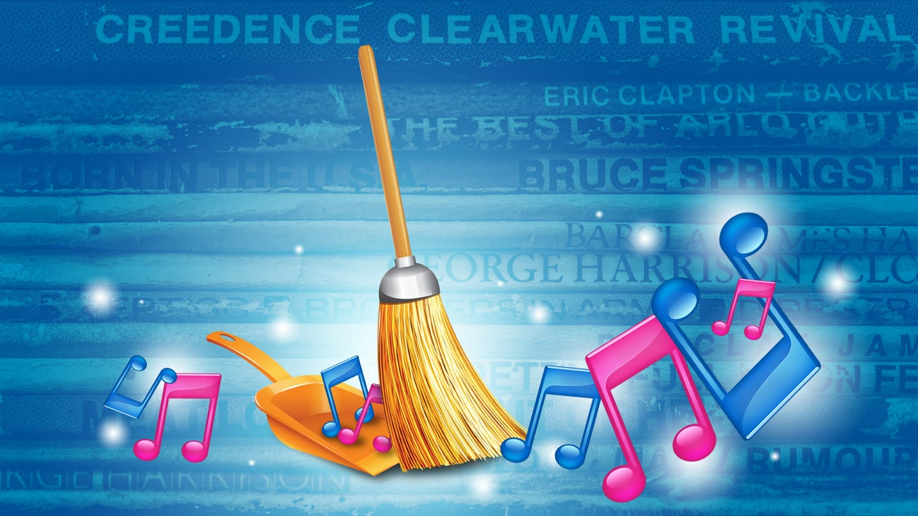 The best apps for automatically cleaning up your music for Music to clean to
