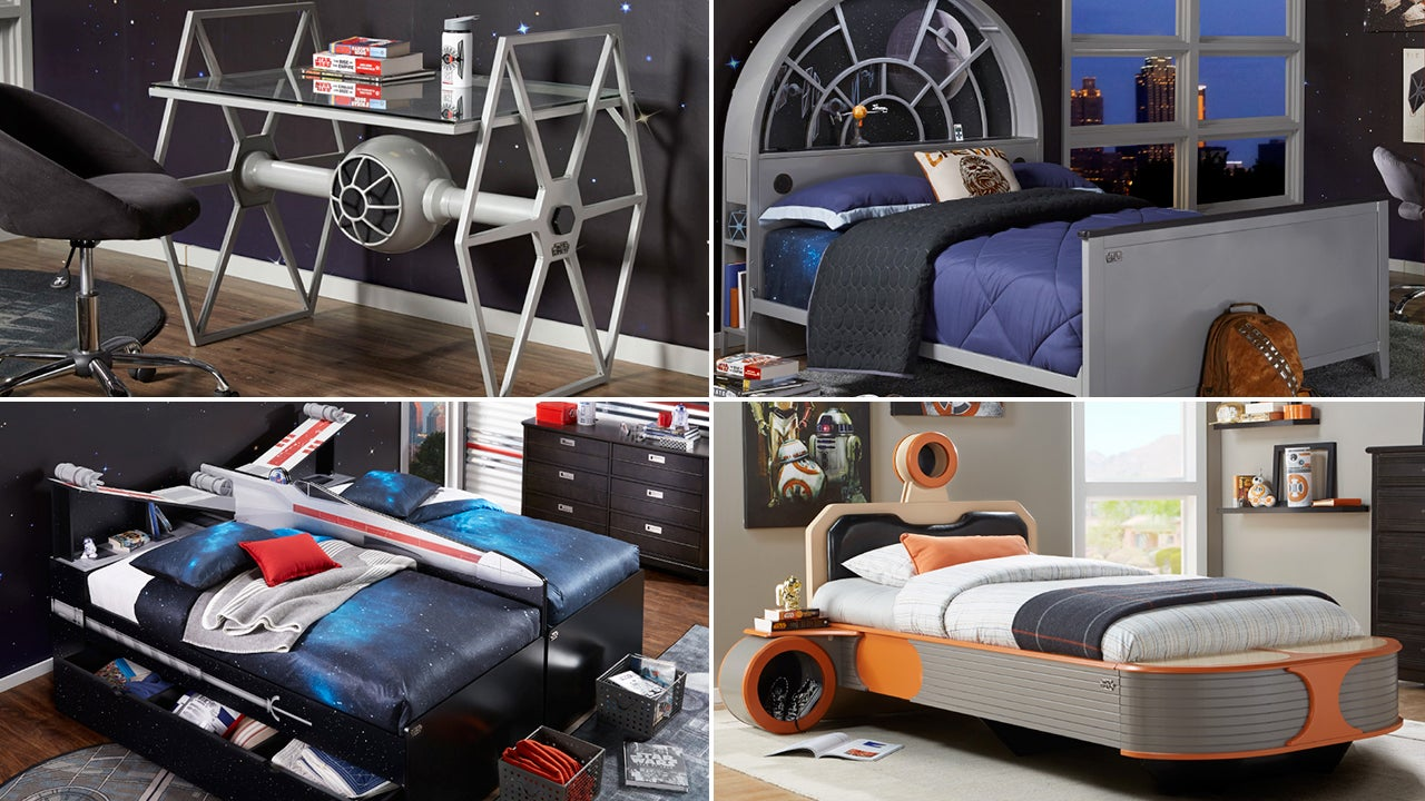This invasion of kick arse star wars furniture can only for Star wars kids room decor