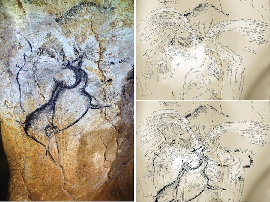 There's Something Incredible in This 40,000 Year Old Cave Painting