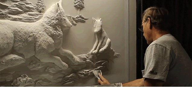 Making Art Sculptures from Drywall Is Very Impressive