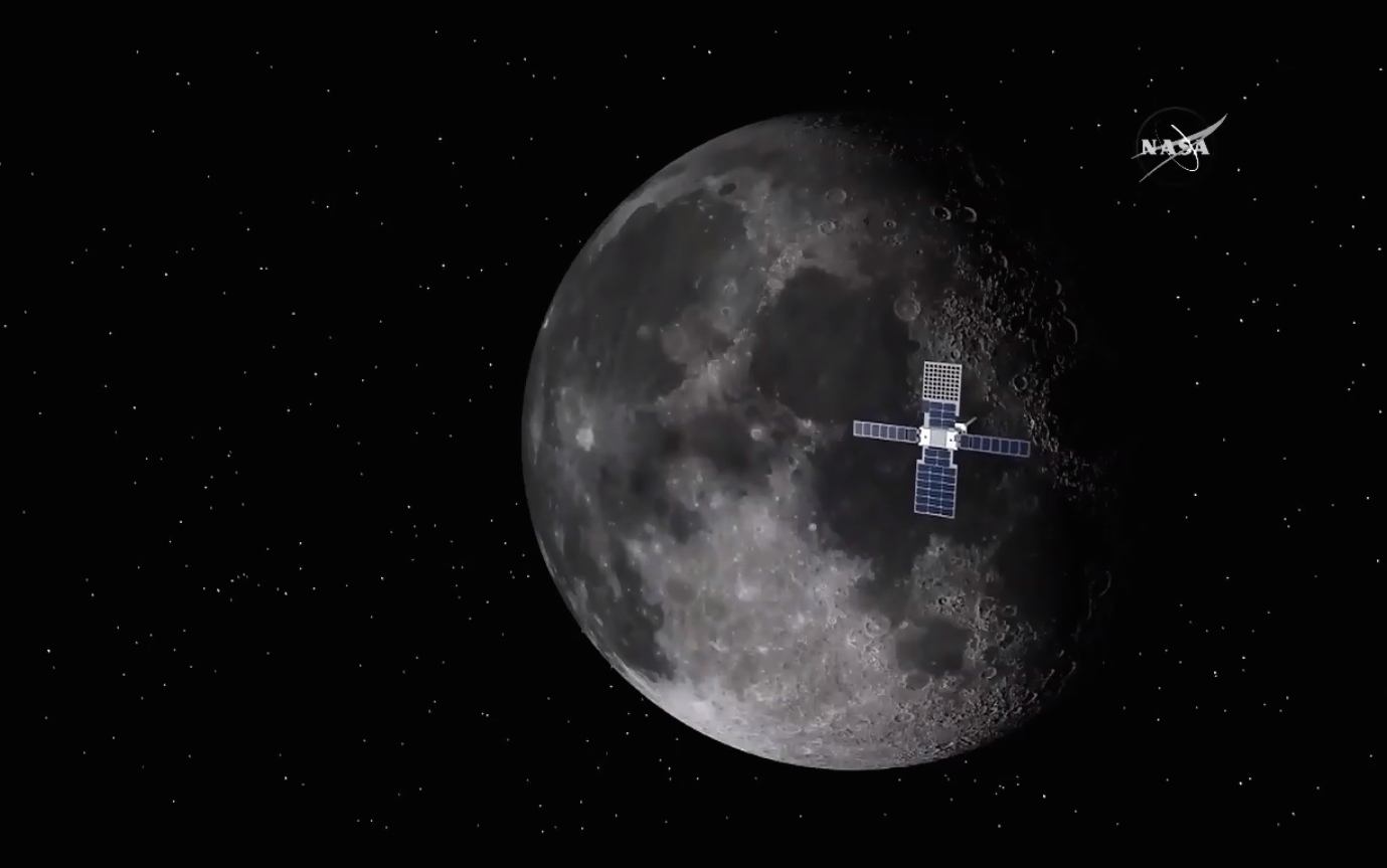 NASA's New Mission to Mars Will Include a Giant Laser 'Lunar Flashlight'