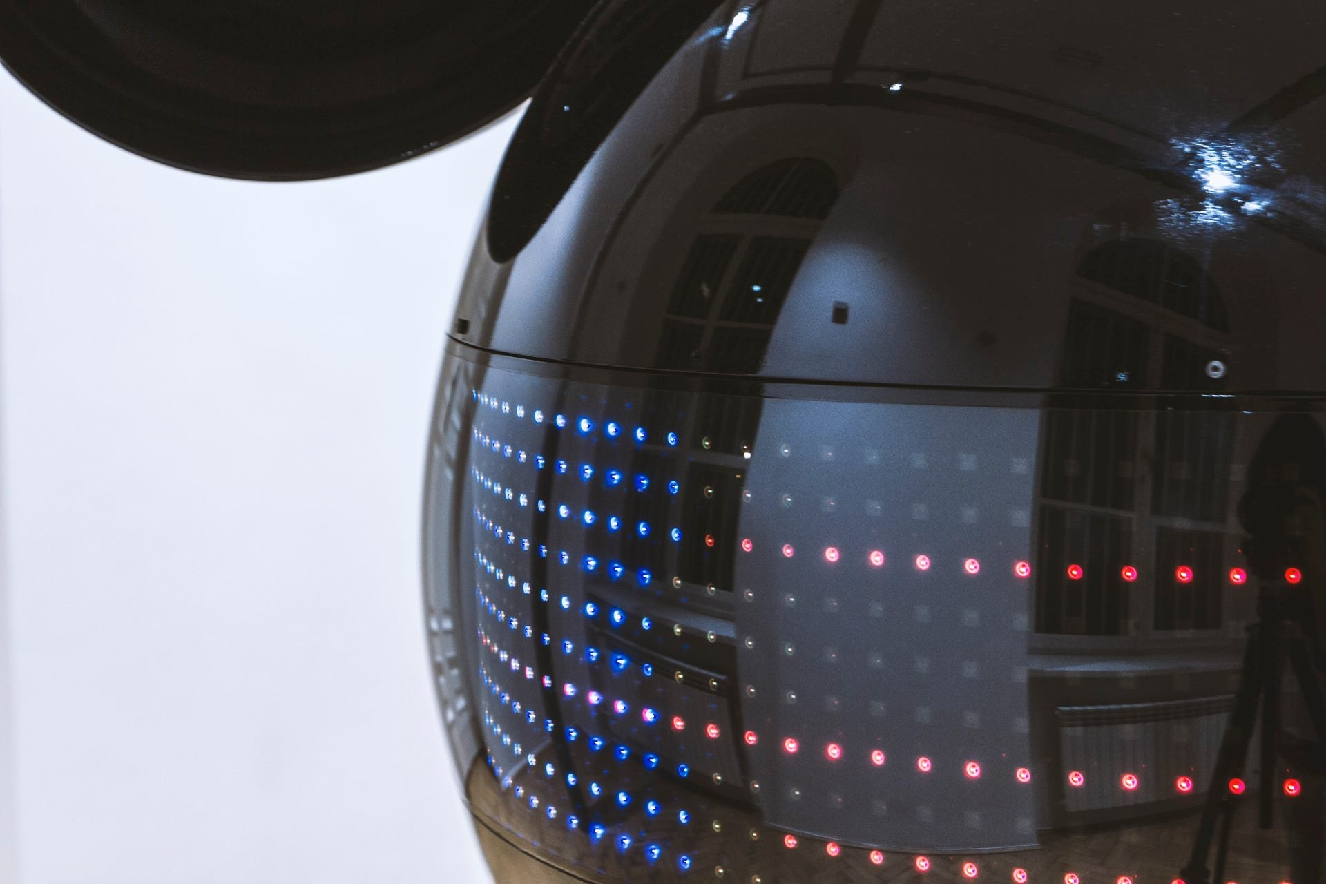 Ominous Mickey Mouse Robot Head Is a Music Visualizer