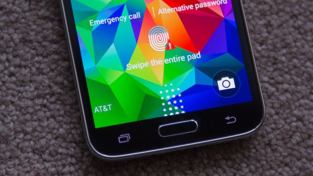 Samsung's Galaxy S5 Could Have Leaked Your Fingerprints To Hackers