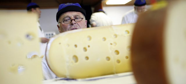 Switzerland Puts Secret Bacteria in Cheese to Catch Knockoffs