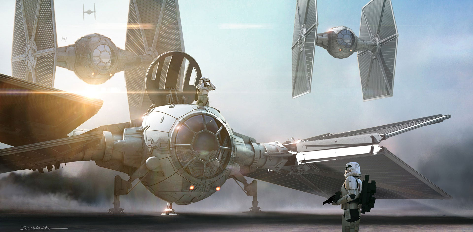 The Force Awakens' Concept Art Had Some Cool Ideas