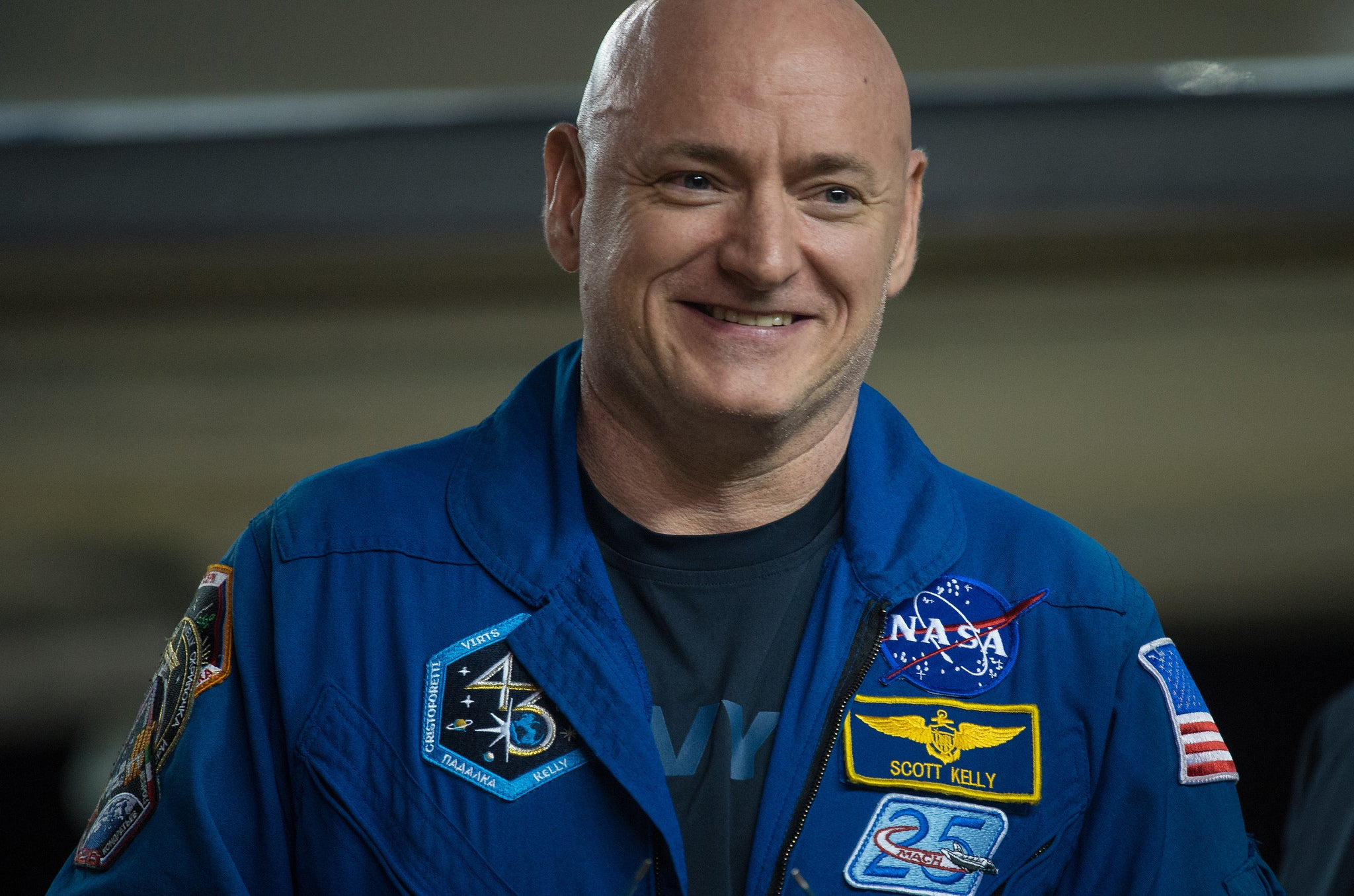 Scott Kelly Gained Two Inches During His Year in Space