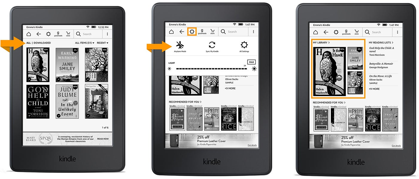 Kindle's Home Screen Is Finally Getting Updated