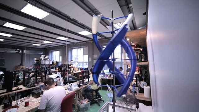 How A 3D-Printed Wind Turbine Could Power Your Gadgets