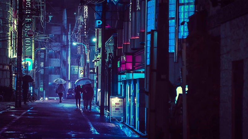 Tokyo Looks Best at Night