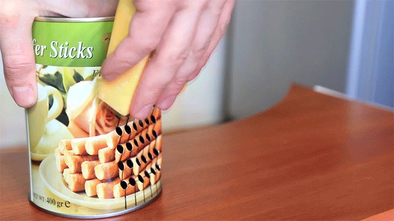 How to Turn a Tin Can Into a Badass Cheese Grater