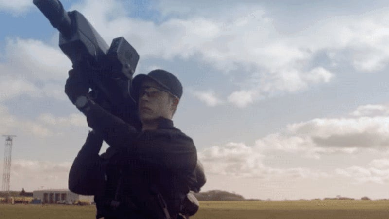 This Net-Firing Cannon Can Take Down a Drone Without Destroying It