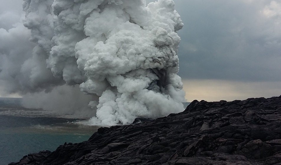 Hawaii Volcanoes National Park Collapses Into ocean, Area Temporarily Closed