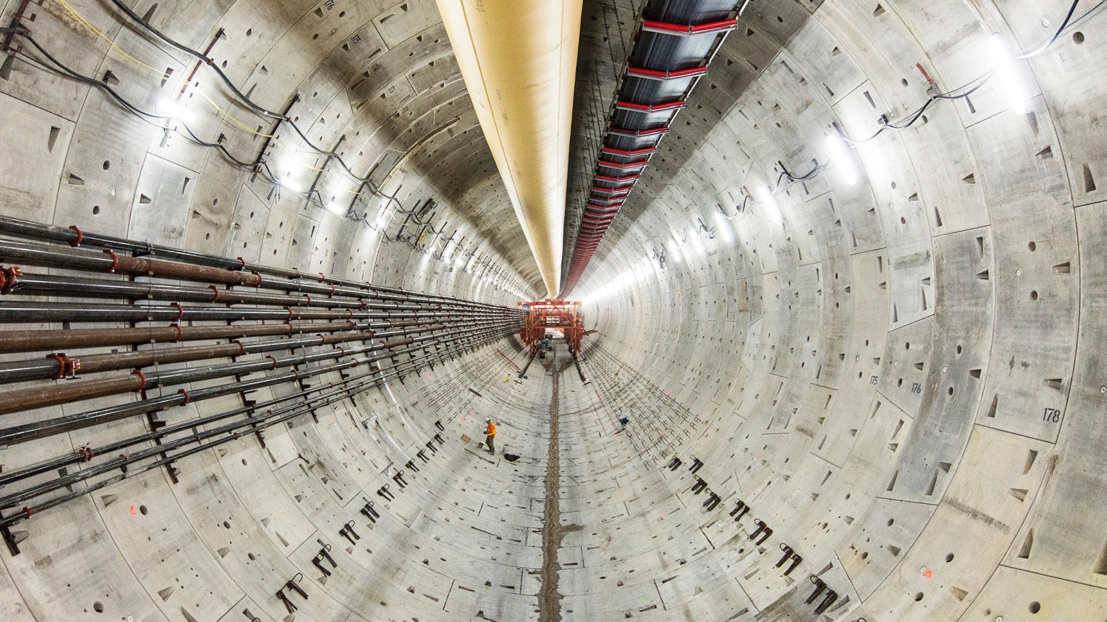 The Two-Mile-Long Tunnel Beneath Seattle Makes Humans Look So Tiny
