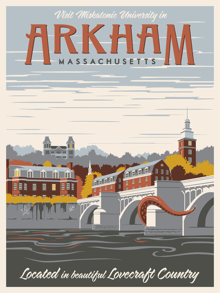 Travel To The Worlds Of Lovecraft With These Fantastic Posters