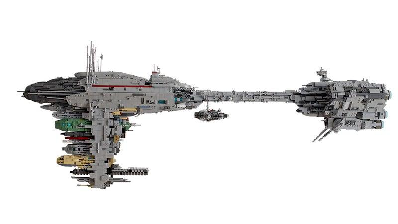 lego star wars republic frigate instructions