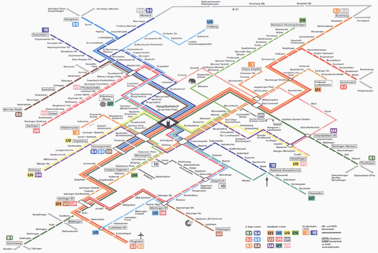 How To Design The Perfect Train Network Map