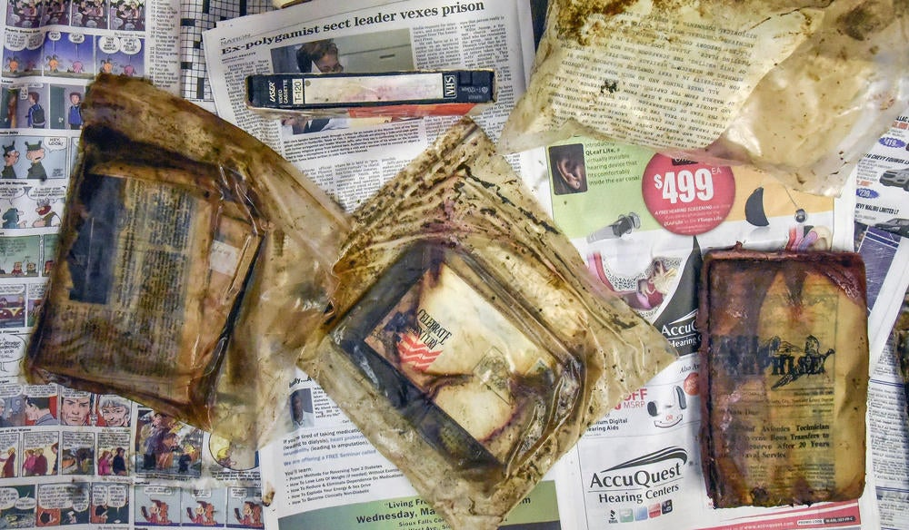 Soggy Bags of Smelly Garbage Unearthed, Helpfully Reminding Time Capsule Enthusiasts Of Their Own Mortality