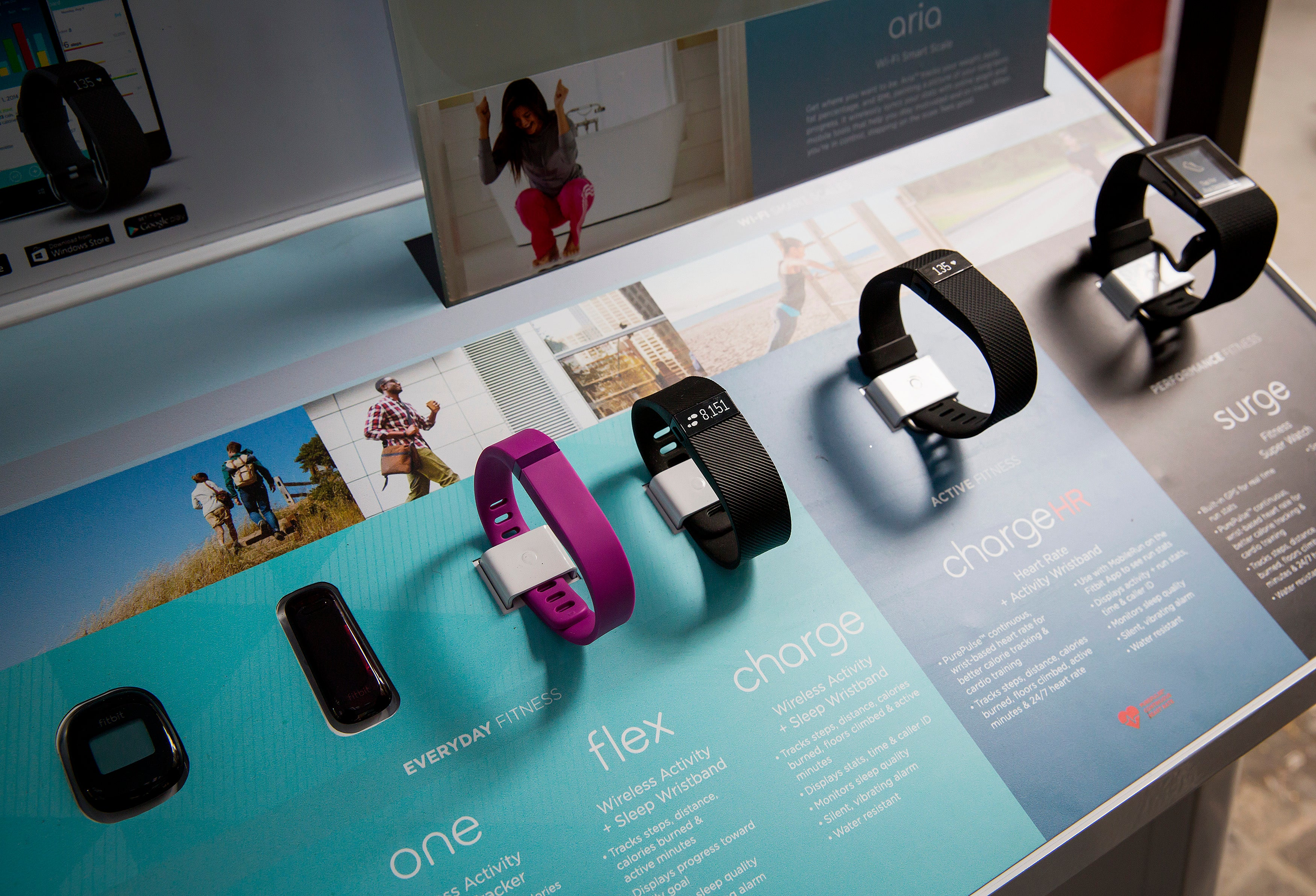 Fitbit devices measure inaccurate heart rates compared to ECG readings
